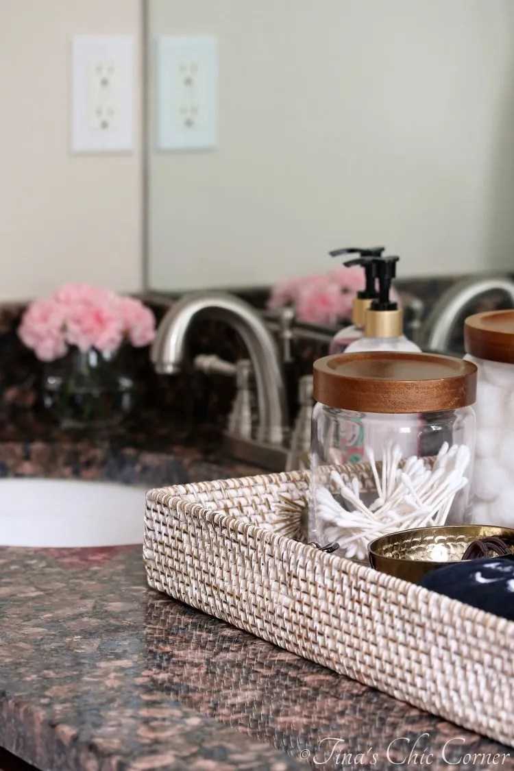 guest bathroom essentials  tina's chic corner
