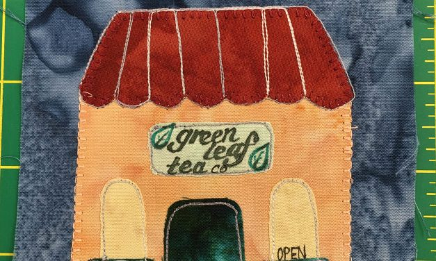 Block-A-Day 53 – Green Leaf Tea Company