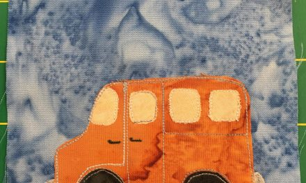 Block-A-Day 133 – The Family Van