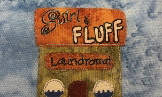 Block-A-Day 254 – Swirl & Fluff