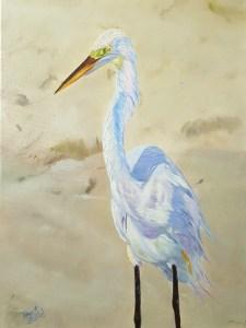 Boca Egret Painting