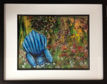 Blue Chair - SOLD