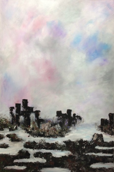 """Stronghold (36"""" x 24"""", $350)"""