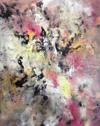 Miasma (mixed media on canvas)