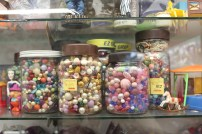 These beads remind me of the old days when I would make bracelets. Quite pricey of a jar of beads.