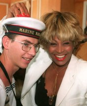 Tina Turner - receiving honorary citizenship of Villefranche sûr Mer - 3
