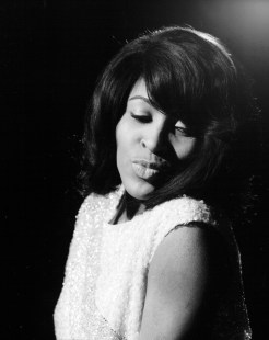 Tina Turner - black & white photo shoot - 1960's - 02