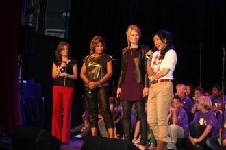 Tina Turner - Children Beyond press conference set 2 - Zurich, Switzerland - September 28, 2011 - 27