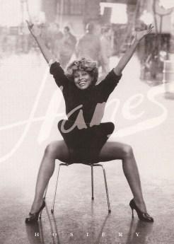 Tina Turner - Hanes postcard (3) - USA - 1997
