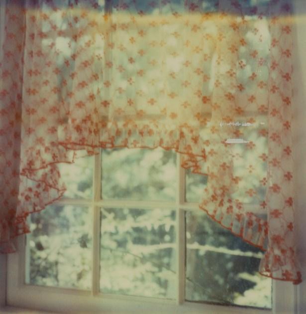 #kitchen #curtain #sx70 #expiredpolaroid #instantfilm #polaroid #timezero