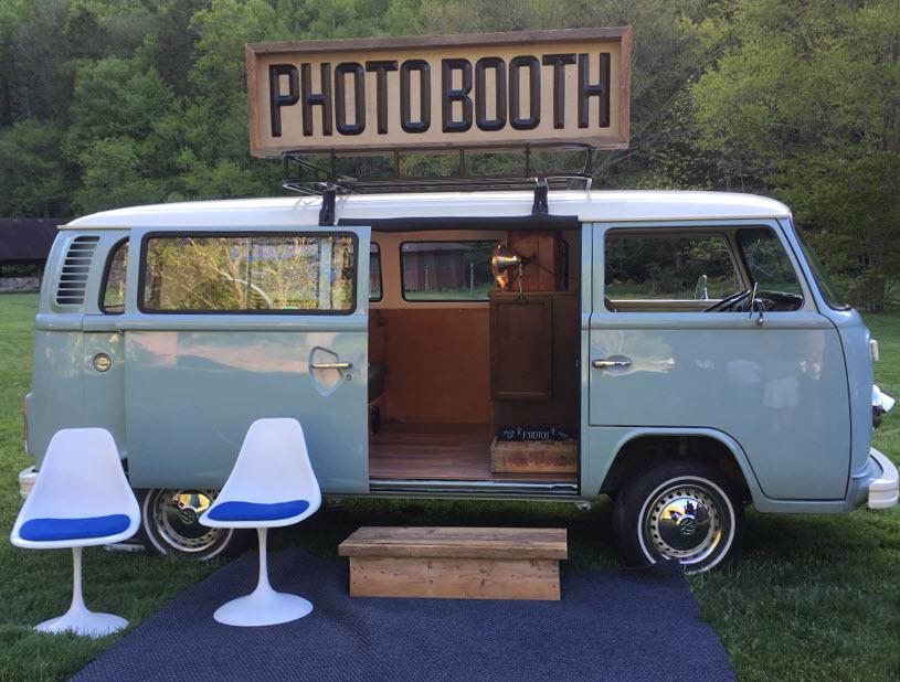 Vw Photobooth Photo Booth Boone Asheville Charlotte North Carolina