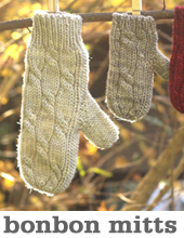 Bon Bon Mittens by Tin Can Knits