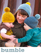Bumble hat by Tin Can Knits