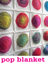 Pop Blanket by Tin Can Knits