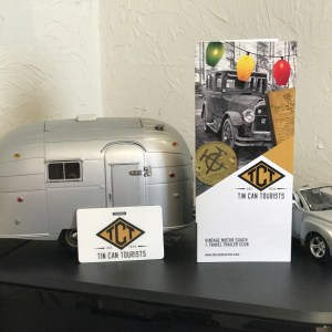 Tin Can Tourists Membership Cards and Brochure