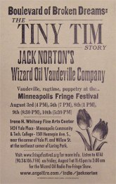Jack Norton Tiny Tim Poster