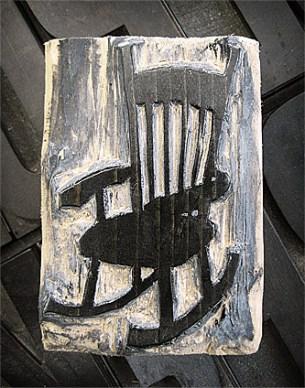 Rocking Chair Woodcut