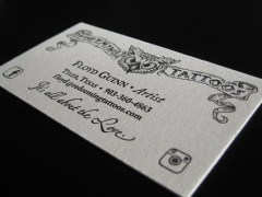 Redeeming Tattoos Business Card