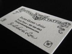 Redeeming Tattoos Business Card