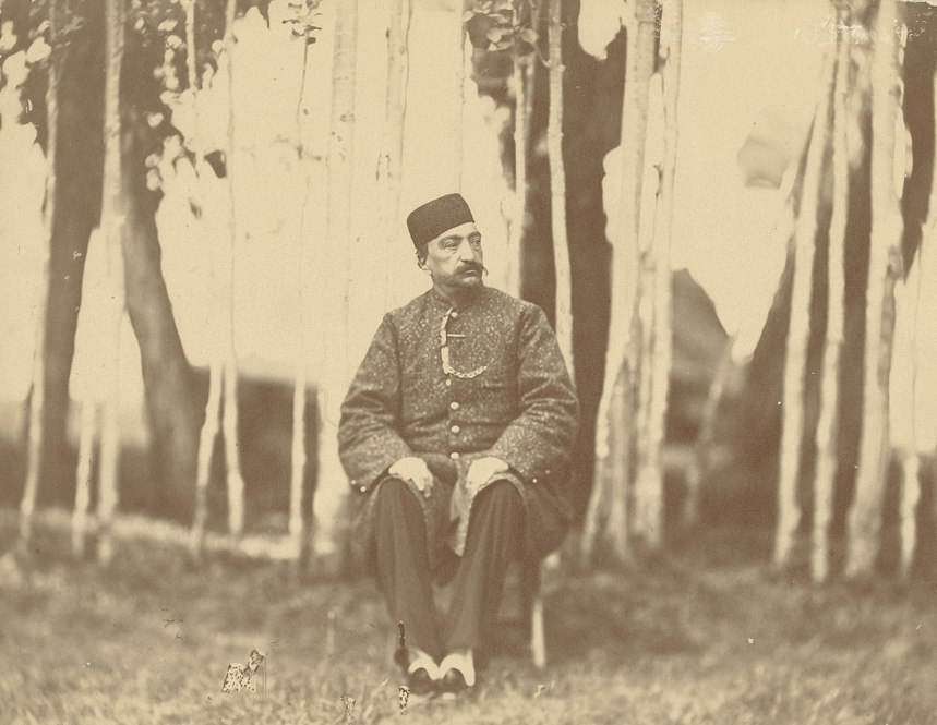 Naser al-Din Shah - unknown photographer