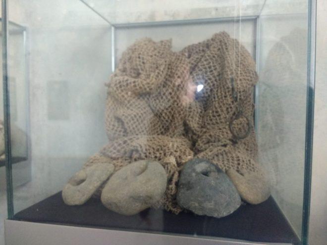 Filets présentés au Mus´ée du Site El Brujo, Magdalena de Cao, Pérou