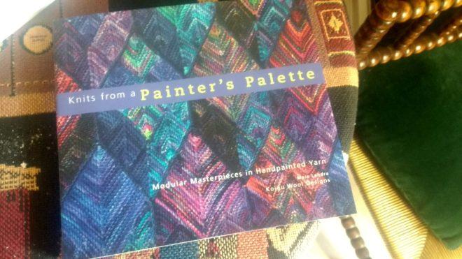 Parmi les évènements du jour, découverte de ce beau livre de tricot