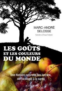 Livre de MMarc-André Selosse sur les tanins