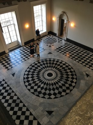 The Great Hall in the newly refurbished Queen's House, Greenwich.