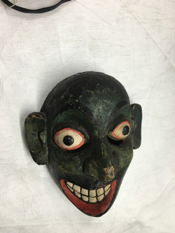 This mask is from the Horniman Museum collections