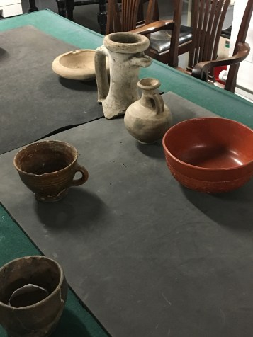 Lovely roman tableware