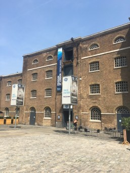 Museum of London Docklands in the sunshine