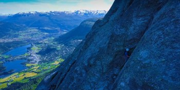 Guided rock climb Lønahorgi | Voss