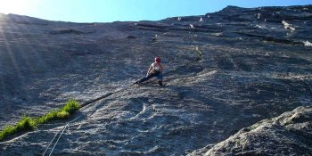 Guided climbing in Uskedalen | Hardanger