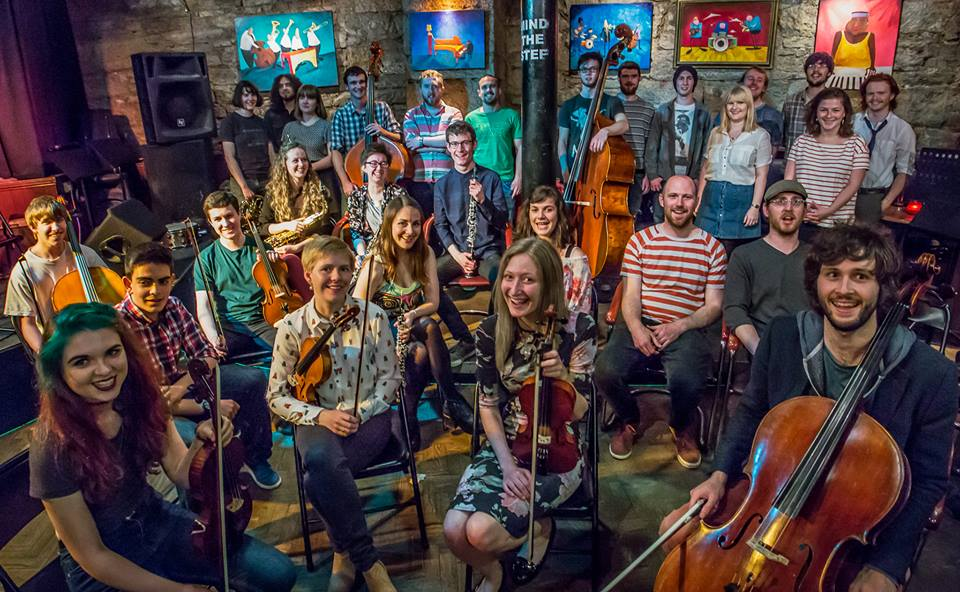 A vibrant and diverse collective of young people, musicians, artists, youth workers and volunteers.