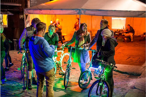 BikeTAG: Colour Keepers – Playable City