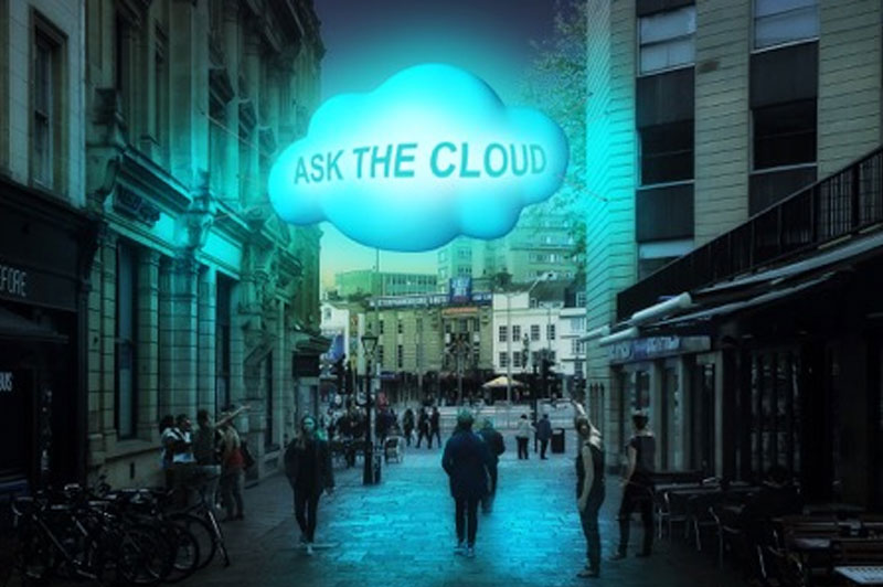Cloud Computing Becomes Tangible With These Dream-like Whispering Clouds