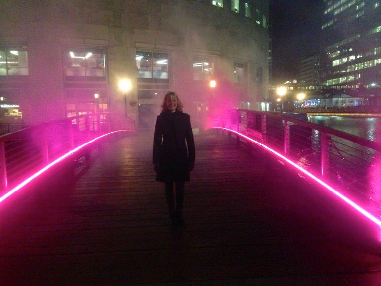 Winter Light Festival At Canary Wharf Mon 5th – Fri 16th January
