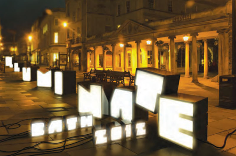 Catch Me Now At Bath Illuminate 2012