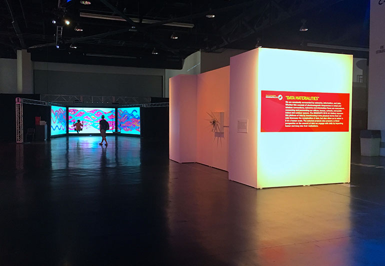Kinetic Storyteller Opens At SIGGRAPH 2016 Art Gallery, USA LA