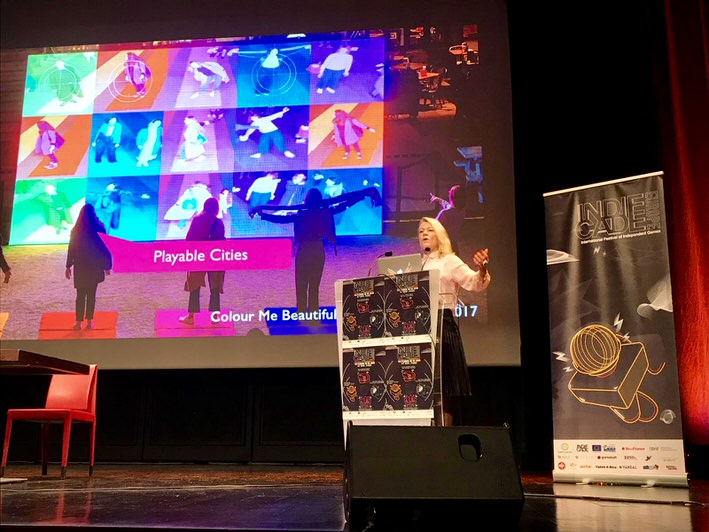 See Tine's Keynote From IndieCade Europa Conference In Paris