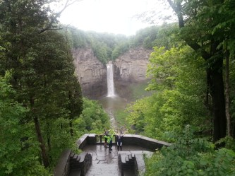 Day 6: Taughannock Falls outside of Ithaca, NY. Gorgeous place.