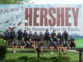 Day 2: Good old Hershey - too bad we couldn't stay to visit the park or Chocolate World :(