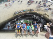Day 21: The team at the bean in Chicago.