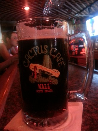 Frosted Mug of Moose Drool Brown Ale. Yum!