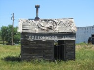 Cottonwood, population 12! Or is it just a ghost town?