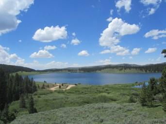 Mountain lakes are gorgeous.