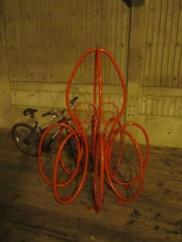 Coolest bike rack, ever.