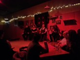 Live Flamenco show at Kino Cafe on Cambie St.