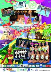 Carnival Show - Natation Artistique @ Centre aquatique communautaire CACEM
