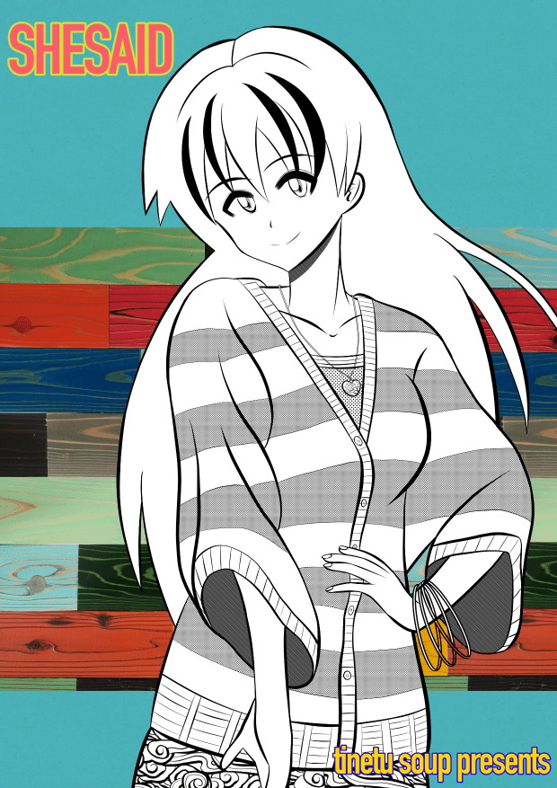 SHESAIDのイラスト